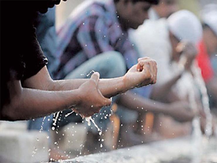 كيفية الوضوء والصلاة الصحيحة بالصور pdf